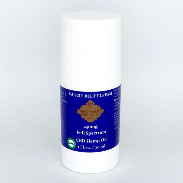 Full Spectrum 250mg Muscle relief Cream 1FL oz.