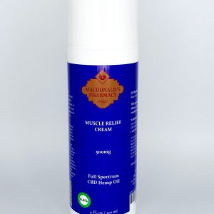 Full Spectrum 500mg Muscle Relief Cream 4FL oz.