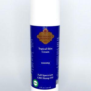 Full Spectrum 1000mg Topical Skin Cream 4Fl oz.